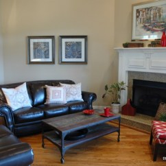 How To Arrange Living Room Furniture With Corner Fireplace Sectional And In A The After
