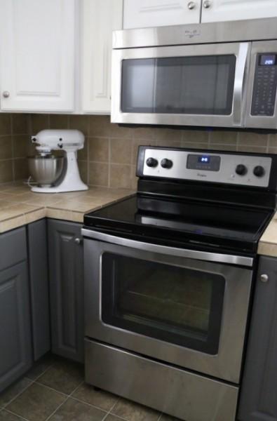 Painted Kitchen Cabinets Melamine Base