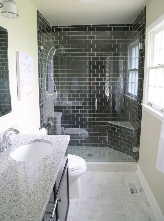 4 Reasons You Should Use Black Subway Tile in Your Bathroom