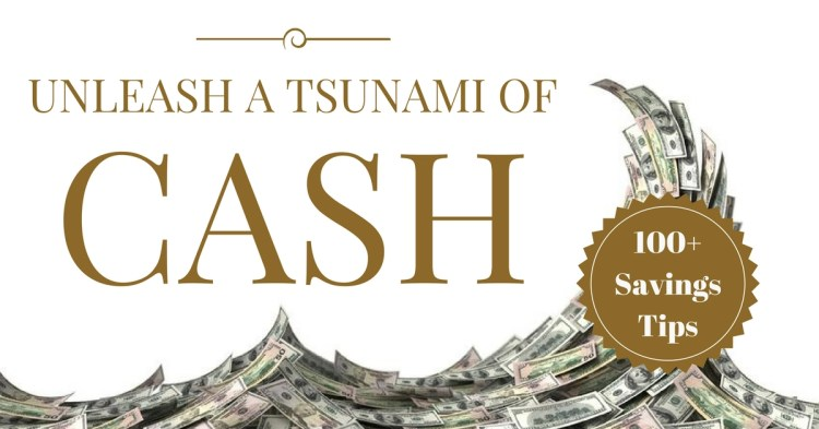 Slash your spending and unleash a cash tsunami image