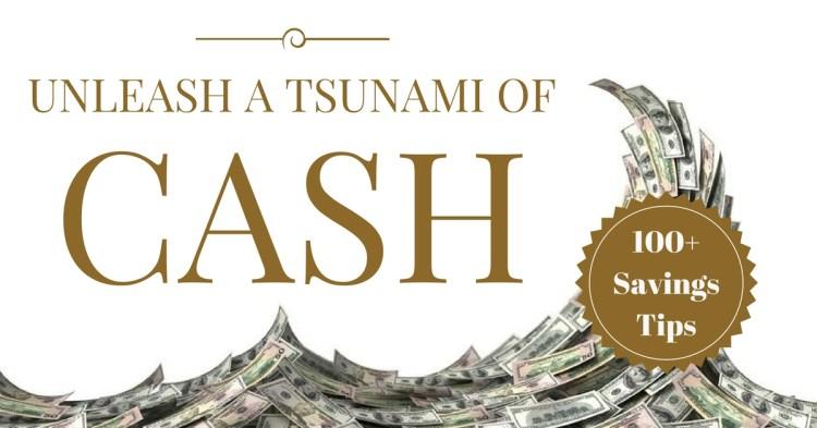 Slash your spending and unleash a cash tsunami image