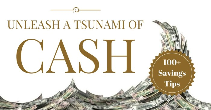 How to save money fast: 100 tips to slash your spending and unleash a tsunami of cash