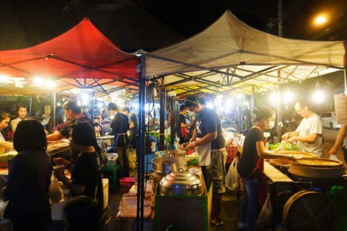 Chiang Mai has markets everywhere.