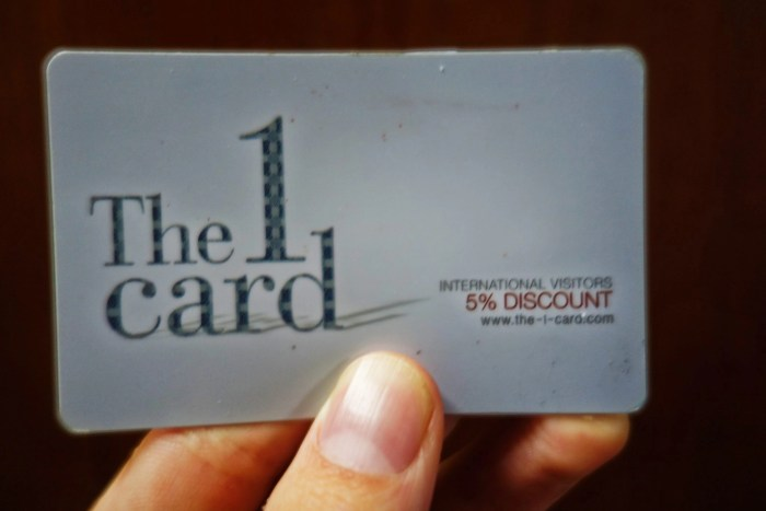 The 1Card can be used to earn points at a range of stores, including Tops supermarket.