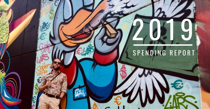 2019 spending report: the year of becoming a fancy bitch