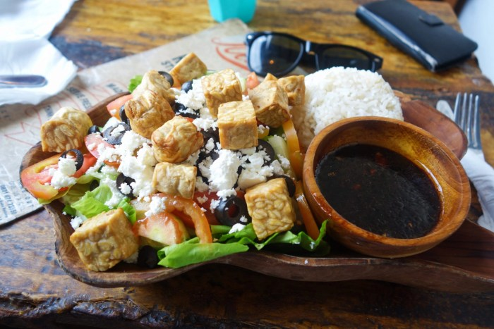 Bali on the cheap: food