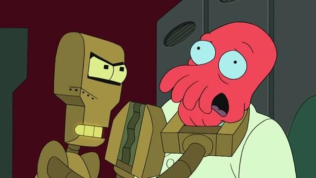 Futurama compound interest: the dark side