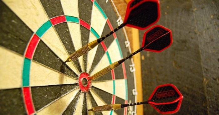 how to make your own luck dartboard cover image