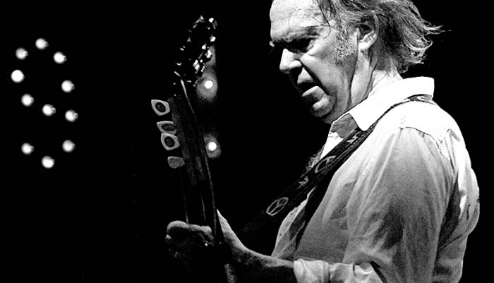 Neil Young one note solo