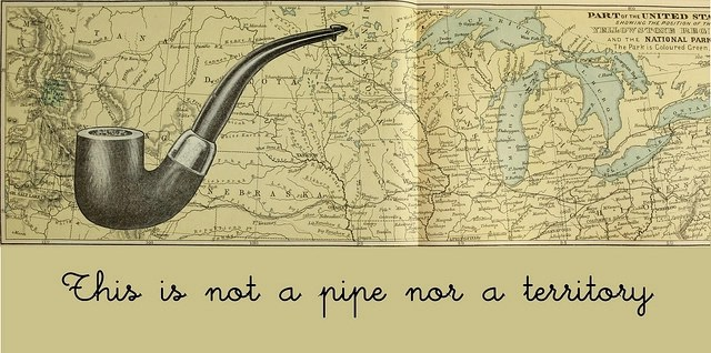 The law of attraction: The map is not the territory, and this is not a pipe