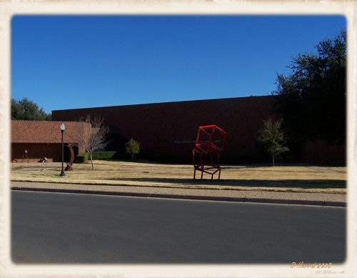 Frost Fine Arts Center.