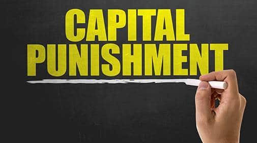 capital punishment - topic