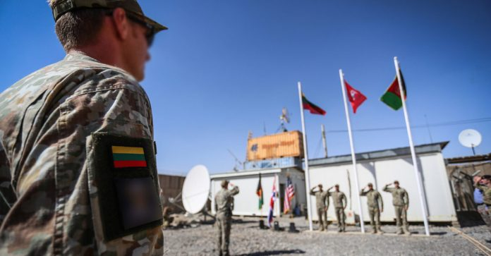 Lithuania troops in Afghanistan