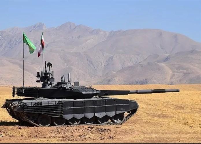 Iran's Karrar tank