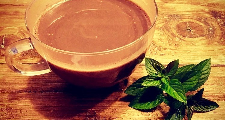 Mint Hot Chocolate
