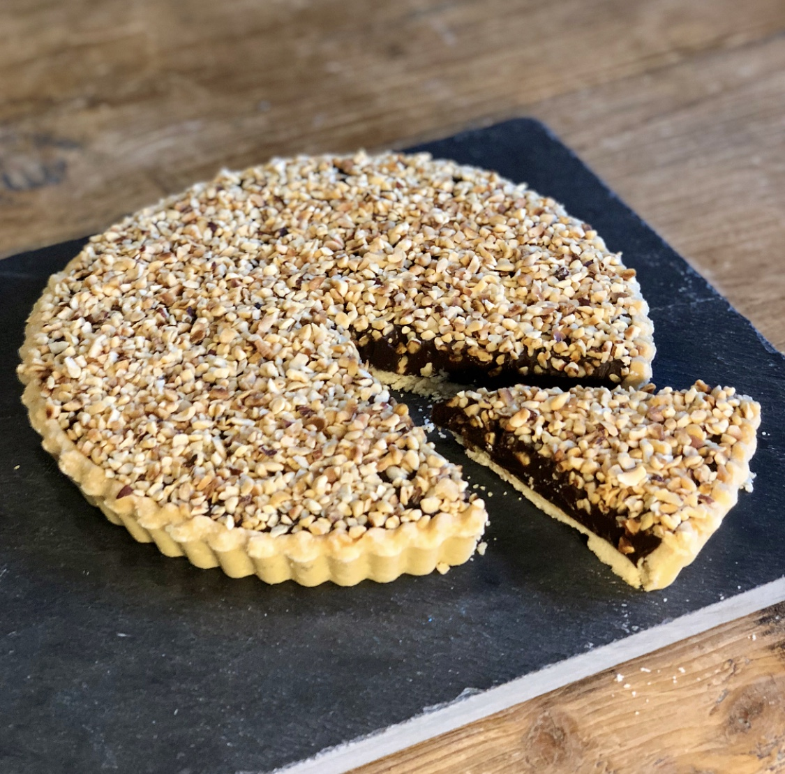 Rich, Smooth and Divine Chocolate Tart