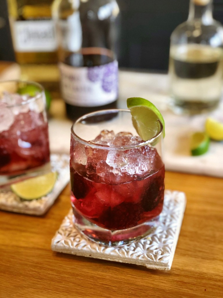 How to make a Bramble Margarita