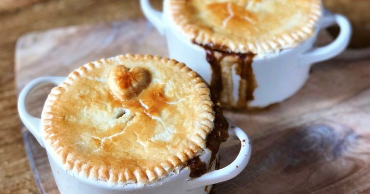 Slow Cooked Beef and Mushroom Pie