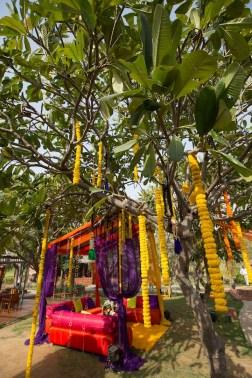 Elements mehendi decor mini gazebo Sahiba wedding Photo Tantra