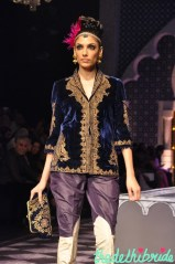 Velvet jackets would be so practical for winter weddings!