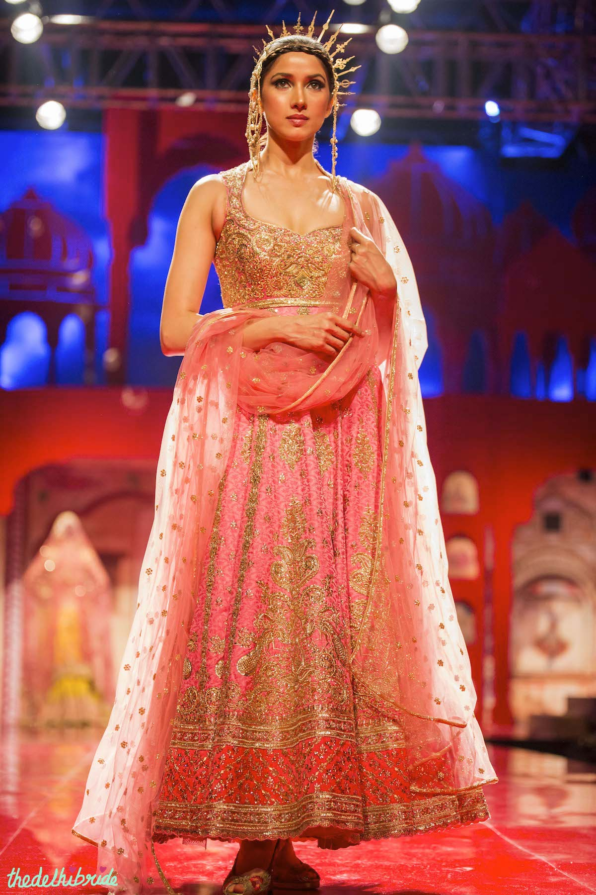 Suneet Varma At India Bridal Fashion Week 2014 An Indian