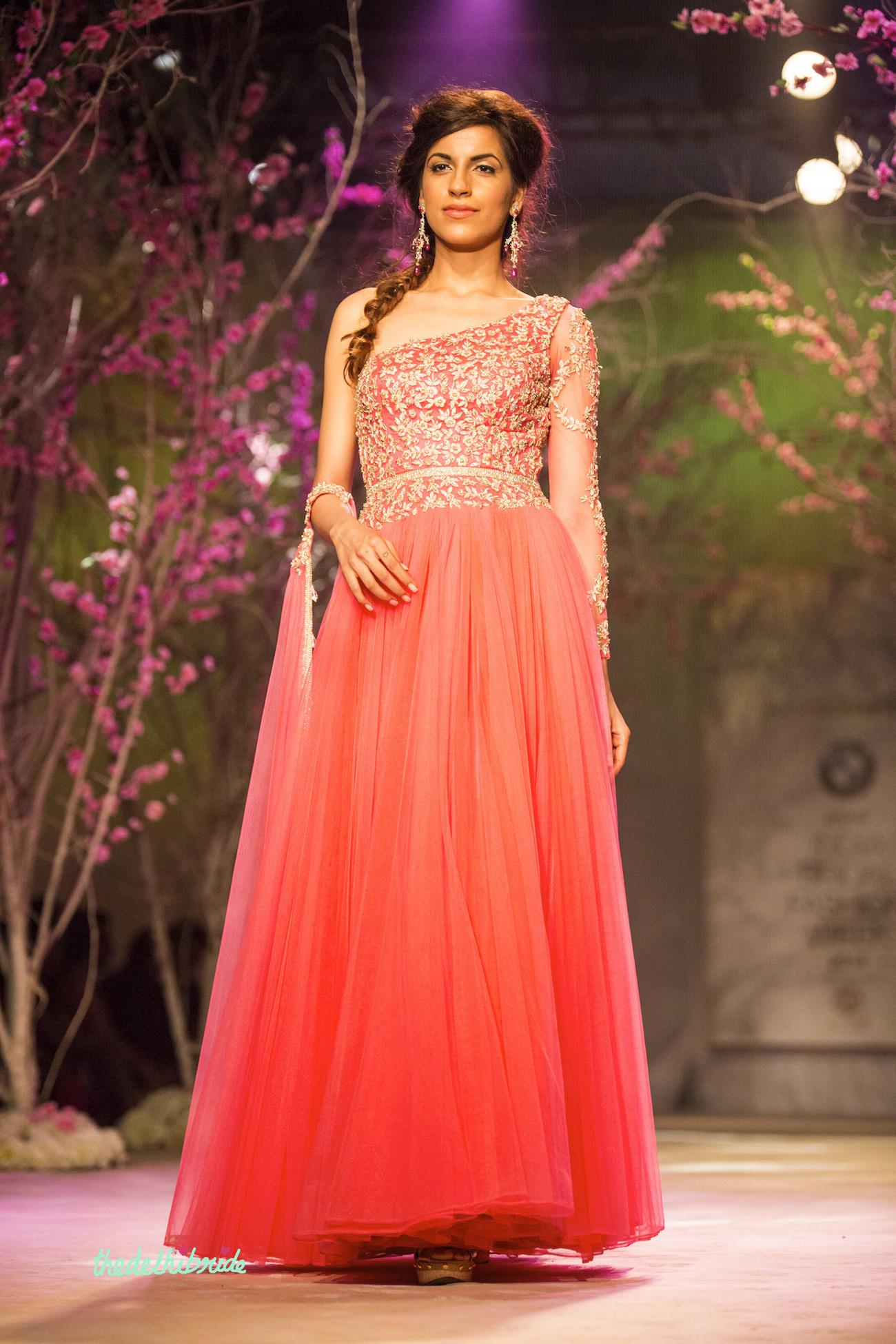 Jyotsna Tiwari At India Bridal Fashion Week 2014 An