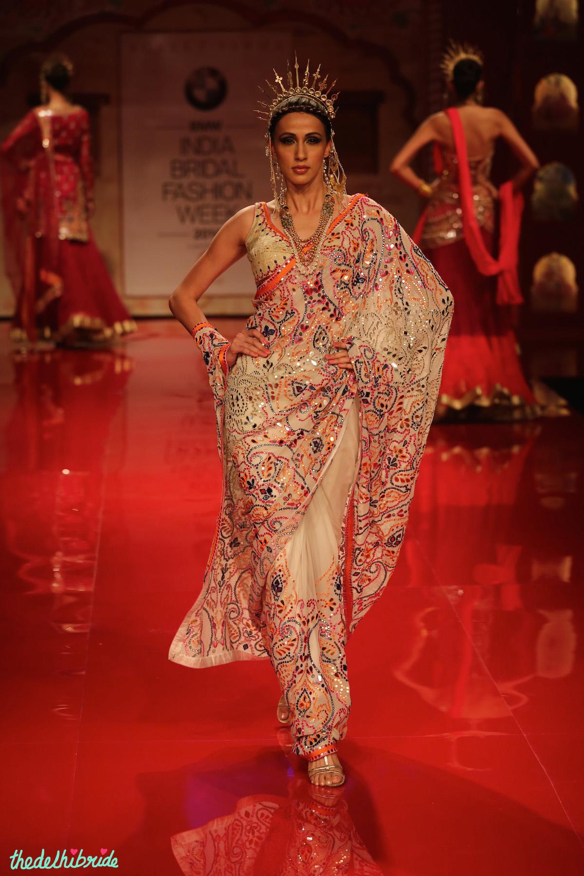 Suneet Varma at India Bridal Fashion Week 2014  thedelhibride  An Indian Wedding Blog