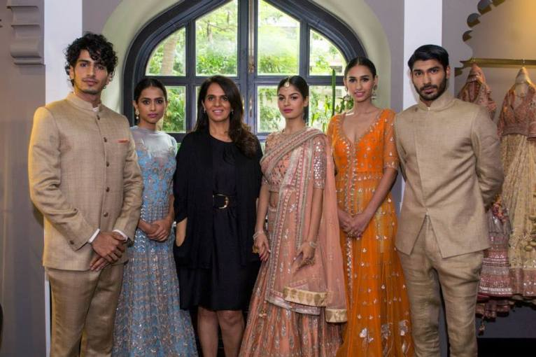 Anita Dongre new collection sneak peek at Vogue Bridal Studio for Vogue Wedding Show 2015