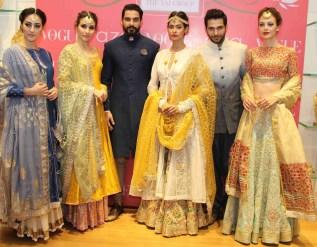 Anju Modi preview bridal collection 2015 Vogue Bridal Studio all models 1