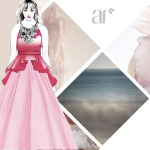 """""""Some innovation & reinvention - here's a sneak peek of what we're creating at the Anushree Reddy headquarters!"""""""