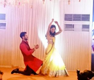 Shahid & Mira dance at their Sangeet