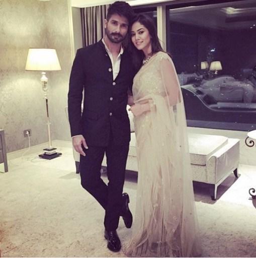 Wedding guest style - Reception - Mira Kapoor and Shahid Kapoor 1 - Masaba Gupta and Madhu Mantena Wedding 2015