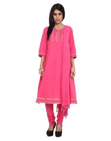 Ekmatra - Pink suit set - Meherchand market wedding shopping guide