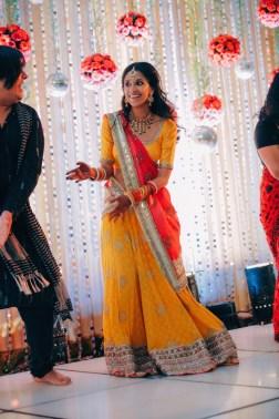Sangeet - DIY Lehenga in yellow 3 - Anasuya Wedding Wardrobe