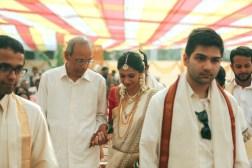 Wedding - Bride Entry at Malyali Wedding - Anasuya Wedding Wardrobe