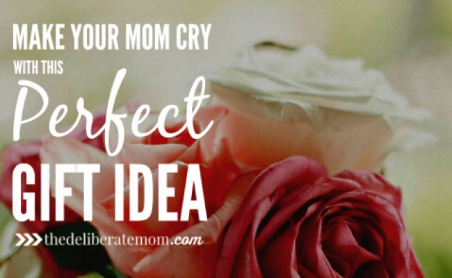 Make Your Mom Cry With This Perfect Gift