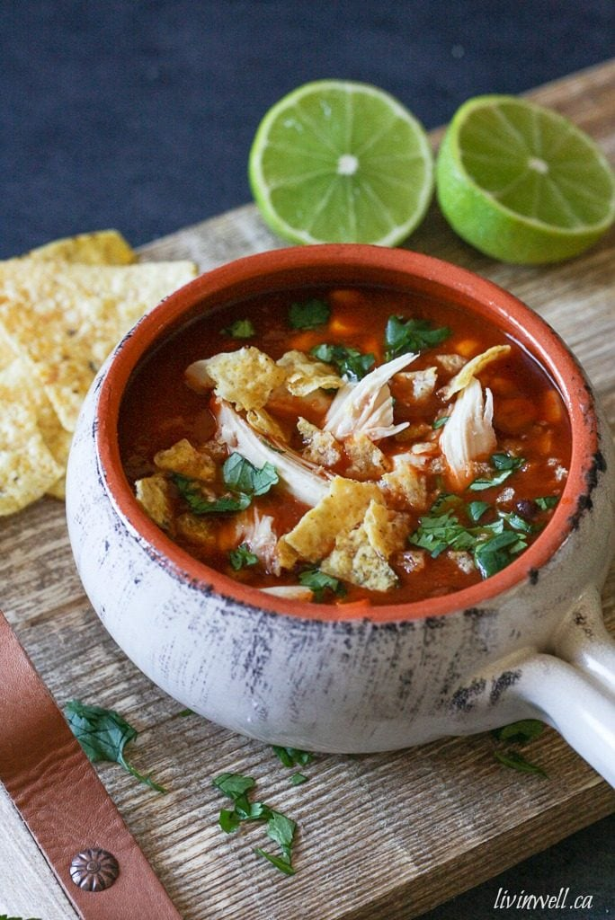 Easy Chicken Tortilla Soup