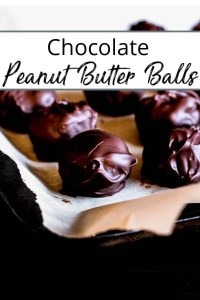 Pin fro Chocolate Peanut Butter Balls