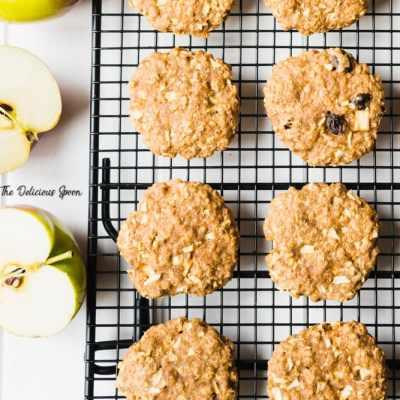 Apple Oatmeal Raisin Cookie Recipe – Made Just A Bit Healthier!