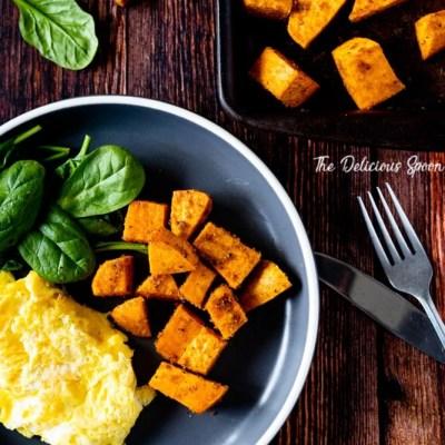 Seasoned Baked Sweet Potatoes