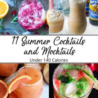 11 Cocktail Recipes Under 140 Calories To Try This Summer!
