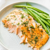 Flaky Oven Baked Salmon Recipe