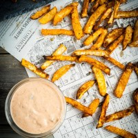 Air-Fryer Turnip Fries