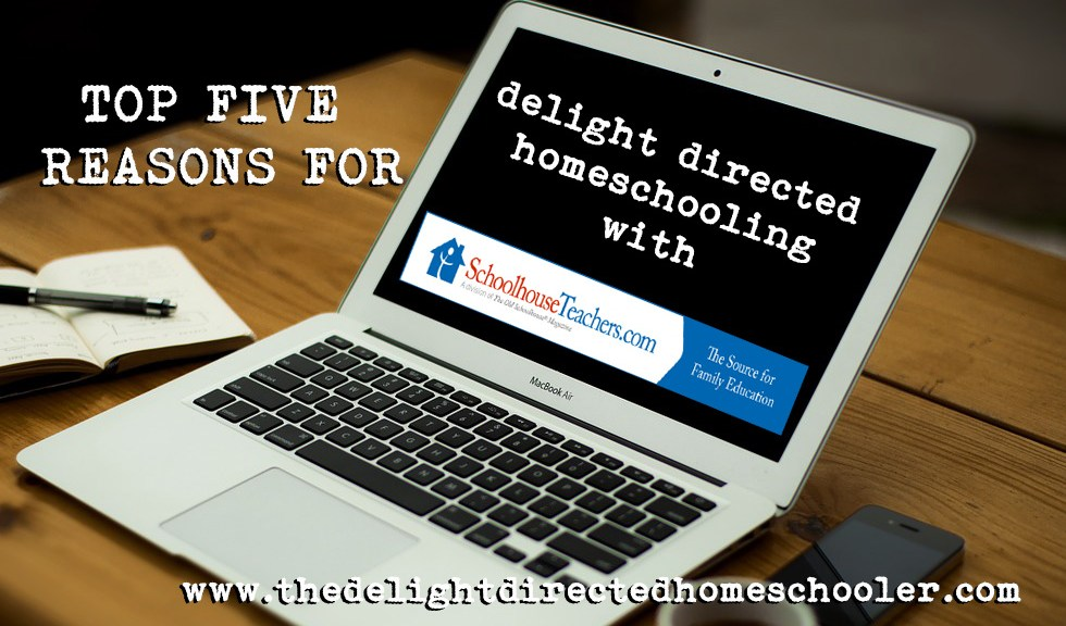Delight Directed Homeschooling with Schoolhouse Teachers