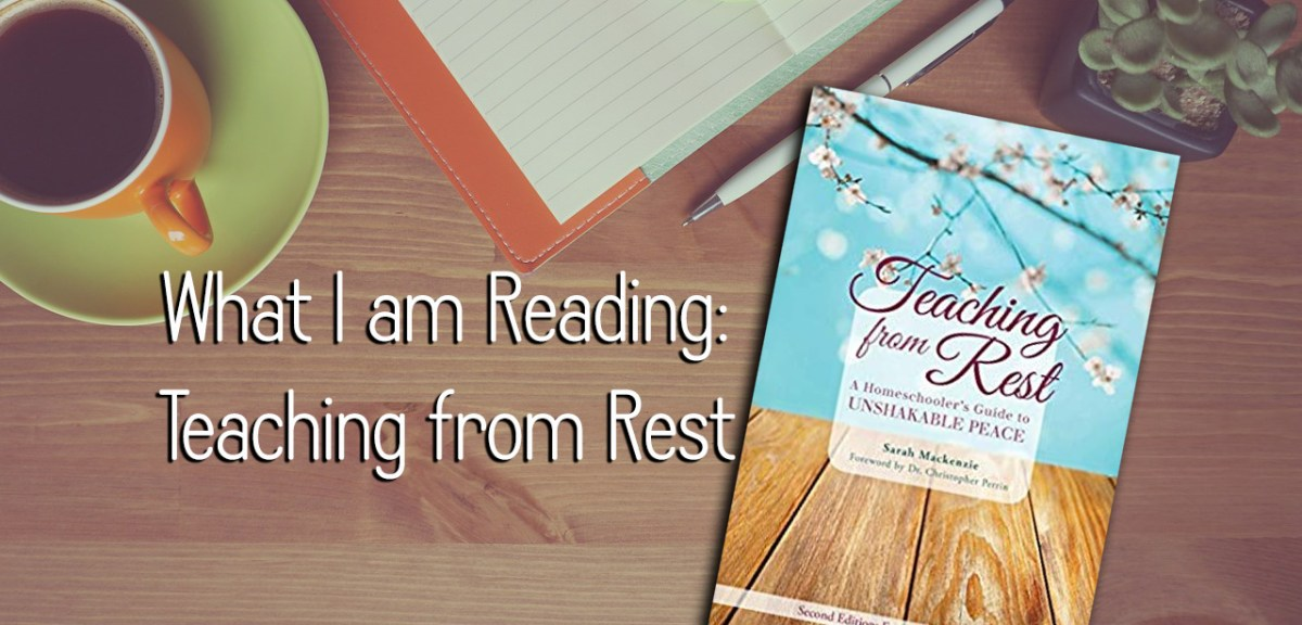 What I am Reading: Teaching From Rest