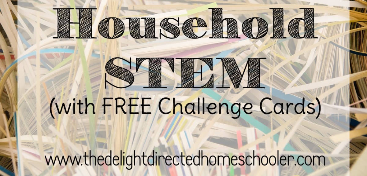 Freebie Friday- STEM Challenge Cards