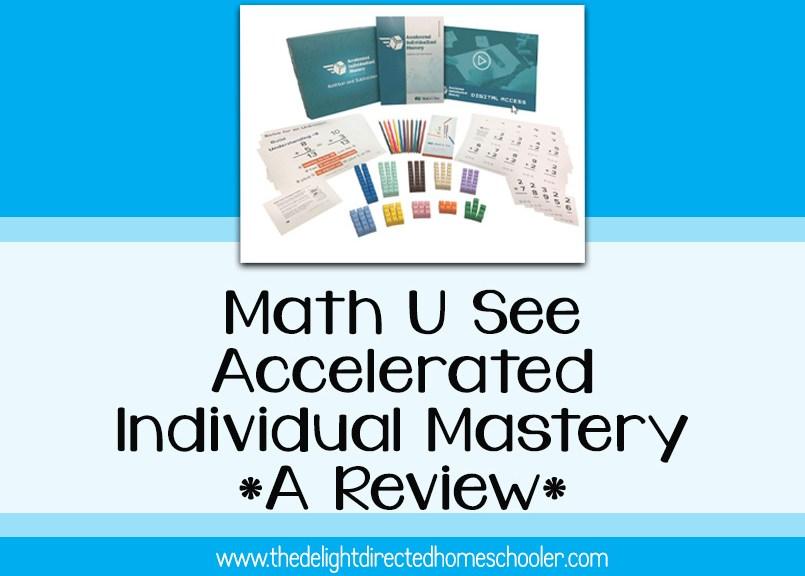 Math U See AIM Program- A Review