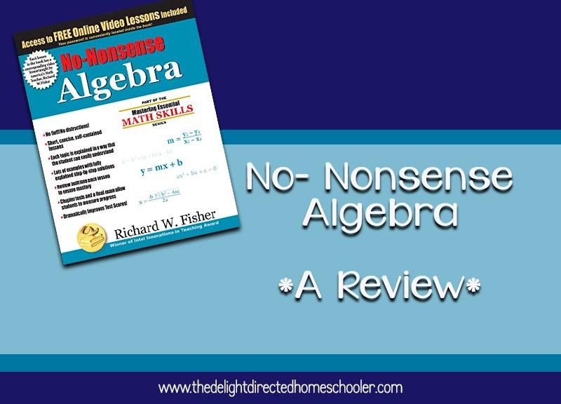 No-Nonsense Algebra- A Review