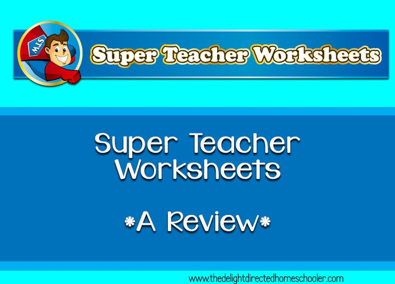 Super Teacher Worksheets- A Review