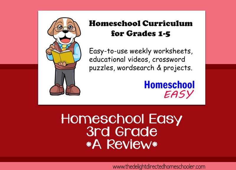 Homeschool Easy 3rd Grade – A Review